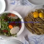 amasra salatasi - hamsi tava
