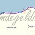 giresun-trabzon harita